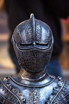 Knight, Armor, Iron, Chevalier, Metal
