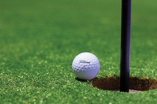 ゴルフ, ゴルフ ・ ボール, 穴, ゴルフ コース, カップ, フィールド