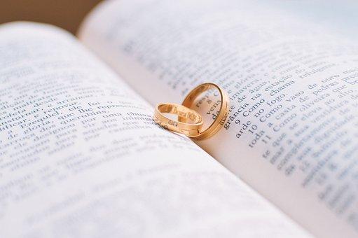 結婚指輪、結婚、結婚式、結婚指輪、金の指輪、結婚、愛、リング