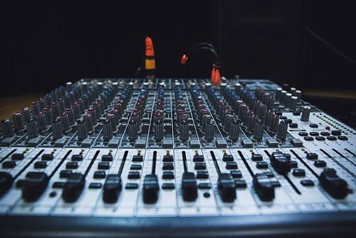 Technology Music Sound Audio Mixing Panel