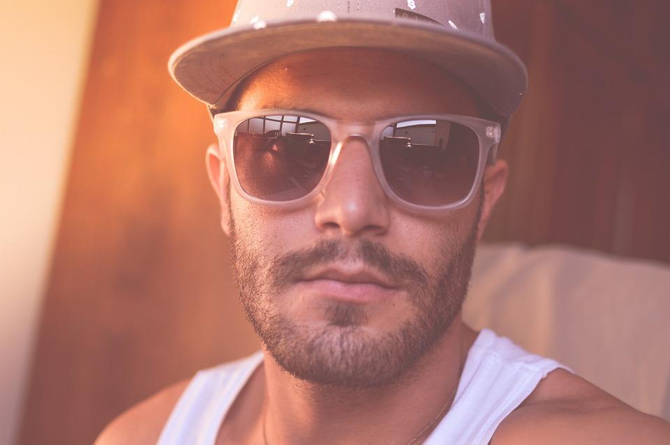Hombre, Persona, Gafas De Sol, Sombrero, Cara, Retrato