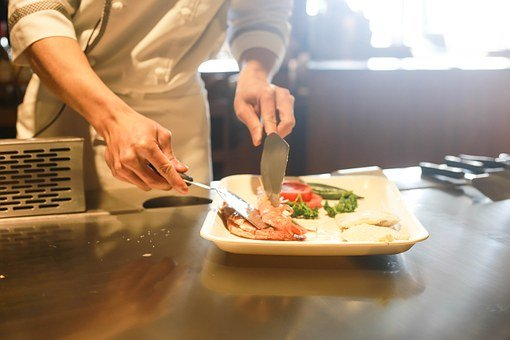Restaurant, Cuisson, Chef, Cuisine