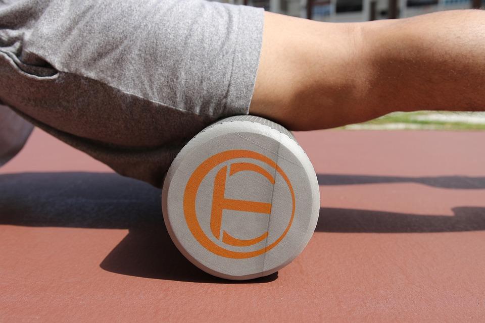 運動, トレーニング, ヨガ, ローラー, 泡, フォームローラー, Myotrigger