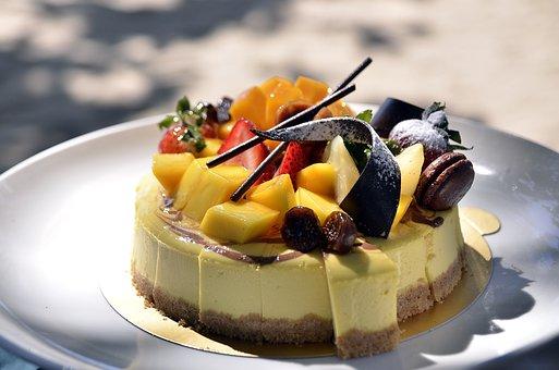 Cake, Torte, Dessert, Sweet, Fruit