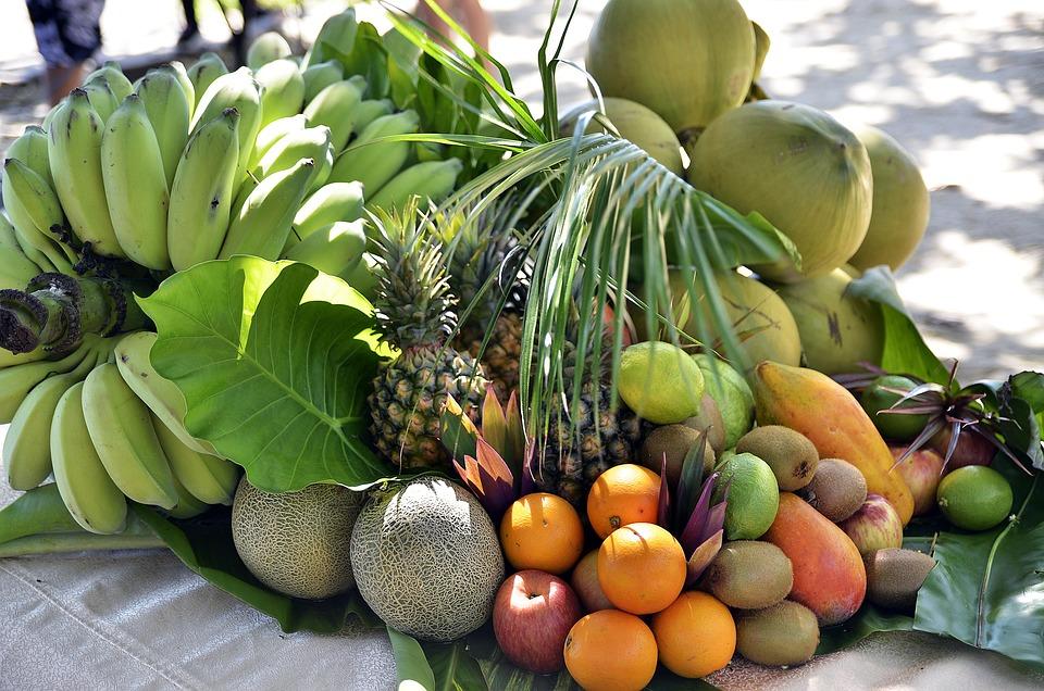 Frutti, Beach, Tropicale, Estate, Naturale, Esotici