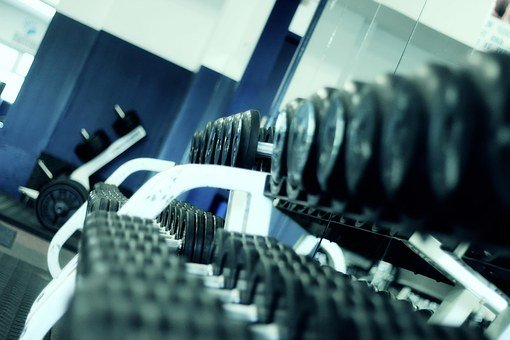 Weight Lifting Fitness Gym Perspective Bod