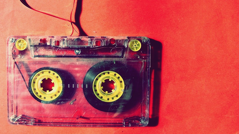 Music, Cassette Tape, Cassette, Retro, Audio, Tape