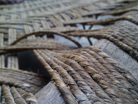 Tali, Lama, Pola, Simpul, Tekstur, Baris