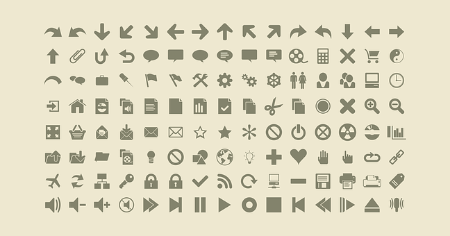 Icons Web Icons Symbol Icon Set Icons