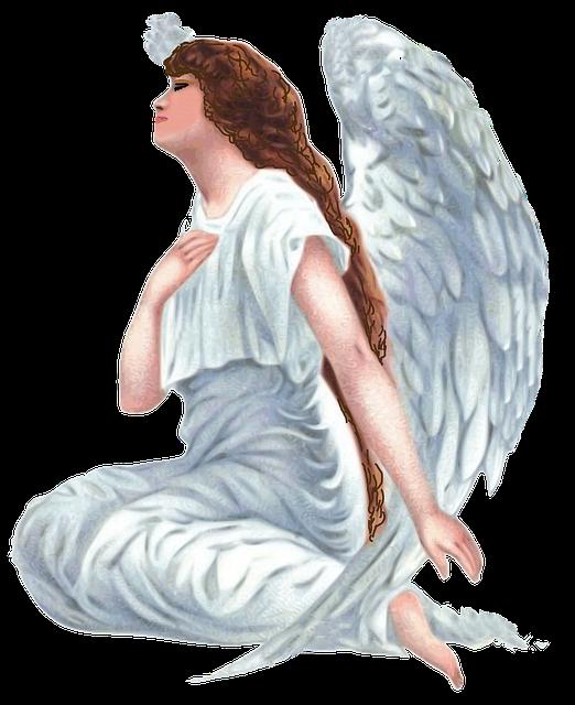 Angel Vintage Gospel Religion Sky 1287080 on Romantic Frame Transparent