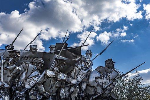 Army Statue Communist Communism Monument S