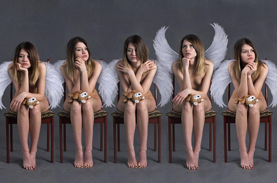 ángeles Demográfico Chicas Foto Gratis En Pixabay