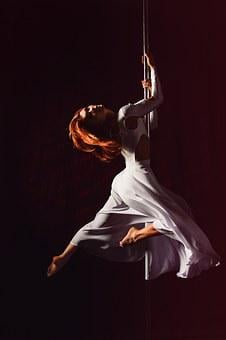 Pole Dance, Woman, Sexy, Elegant, Pole