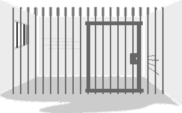 Jail Bar · Free vector graphic on Pixabay