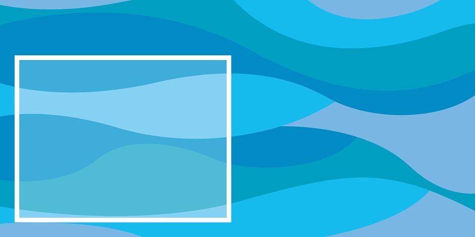 Bandera Azul Banner Marco · Imagen gratis en Pixabay