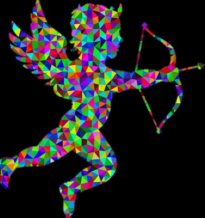 Image vectorielle gratuite cupidon ange arrow arc image gratuite sur pixabay 1289523 - Image de cupidon gratuite ...