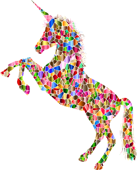unicorn horn horse free vector graphic on pixabay