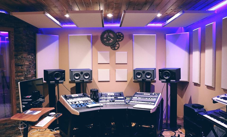 Musique, Studio, Studio De Musique, Son, Audio