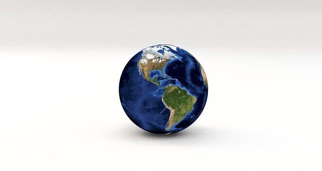 On The Globe India: Globe World Earth · Free Image On Pixabay
