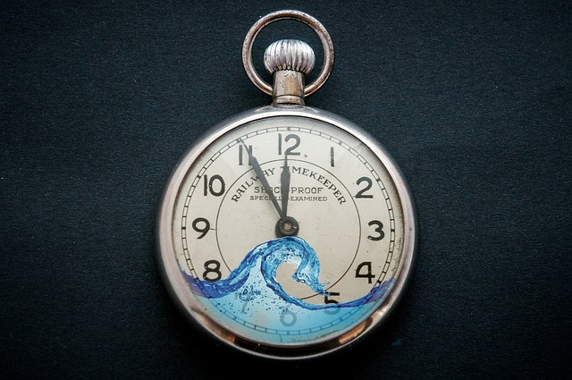 Free Illustration Clock Water Splash Time Free Image