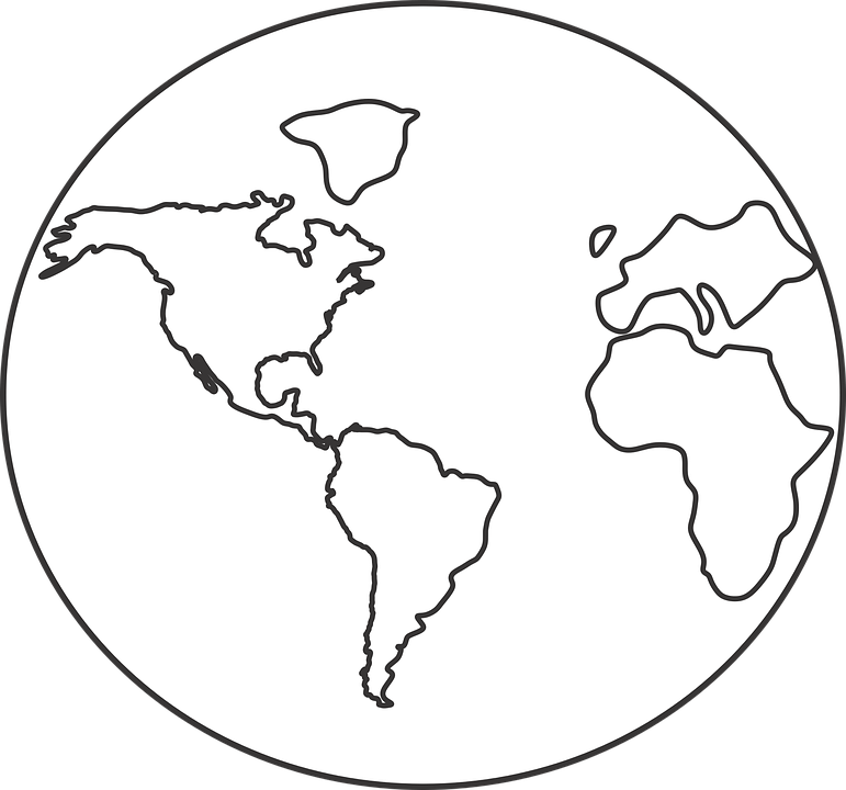 Earth world map free vector graphic on pixabay earth world map world map continents icon gumiabroncs Gallery