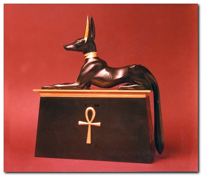 Ancient Egypt, Ancient Furniture, Anubis, Dog