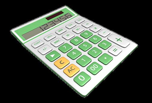 Calculator, Three Dimensional, Symbol