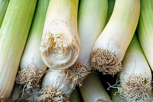 Leek, Vegetables, Raw, Food, Healthy