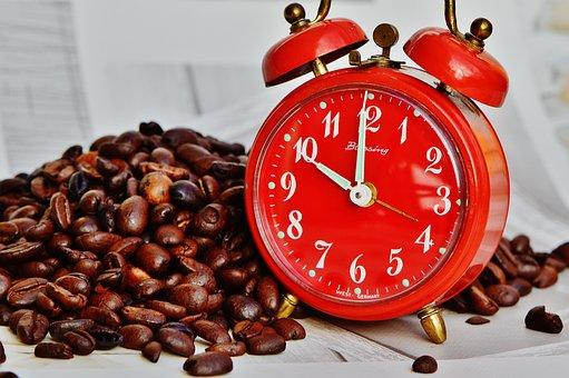 Coffee Break, Salto, Despertador, Tiempo