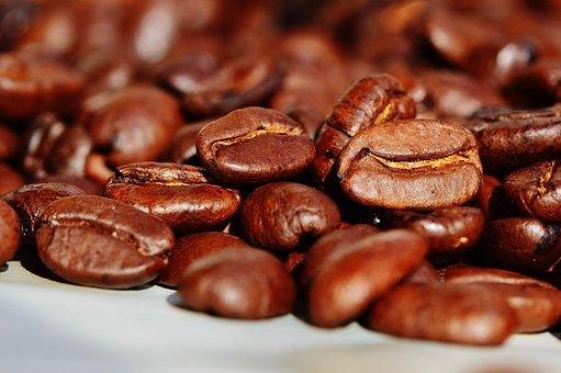 Coffee Beans, Coffee, Roasted, Caffeine
