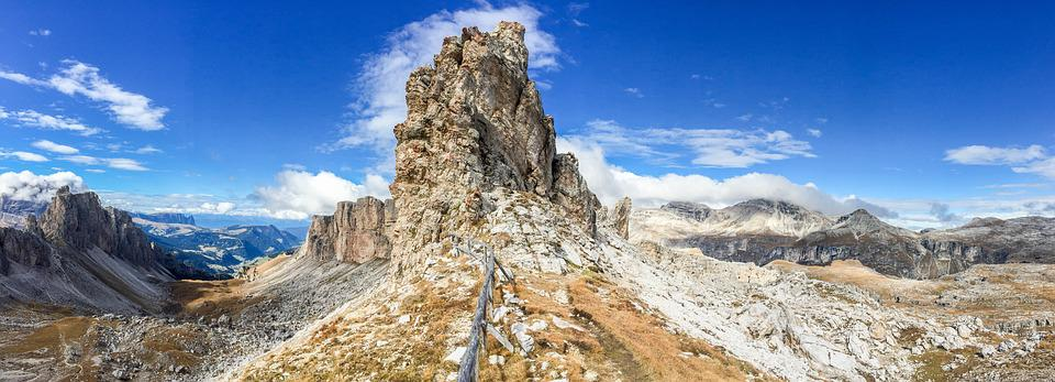 Dolomiti, Italia, Val Gardena, Panorama, Alto Adige