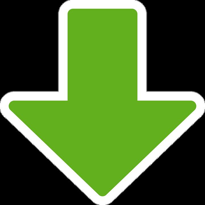 Herunterladen Pfeil Nach Unten - Kostenlose Vektorgrafik auf Pixabay