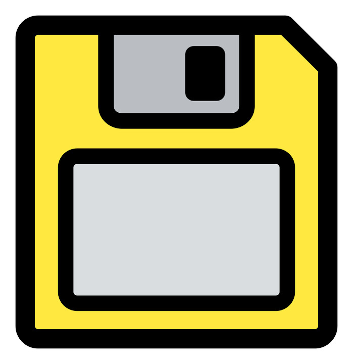 Free Vector Graphic Floppy Disk Disc Data Pc Free