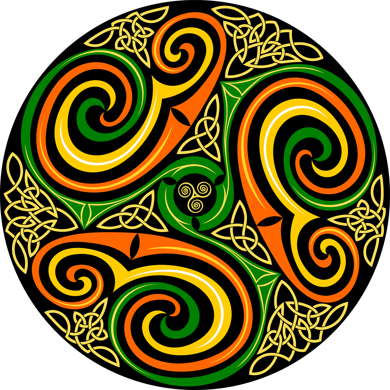 Celtic Celts Circle - Free vector graphic on Pixabay