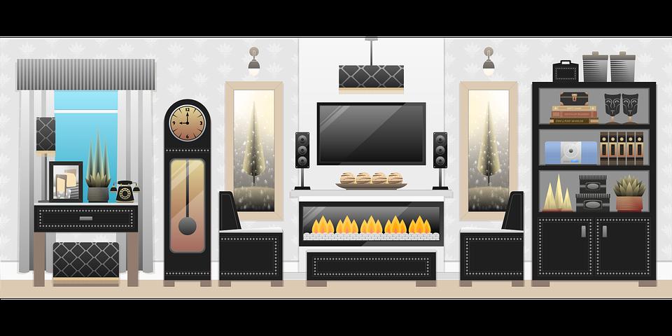 Living Room Interior Tv