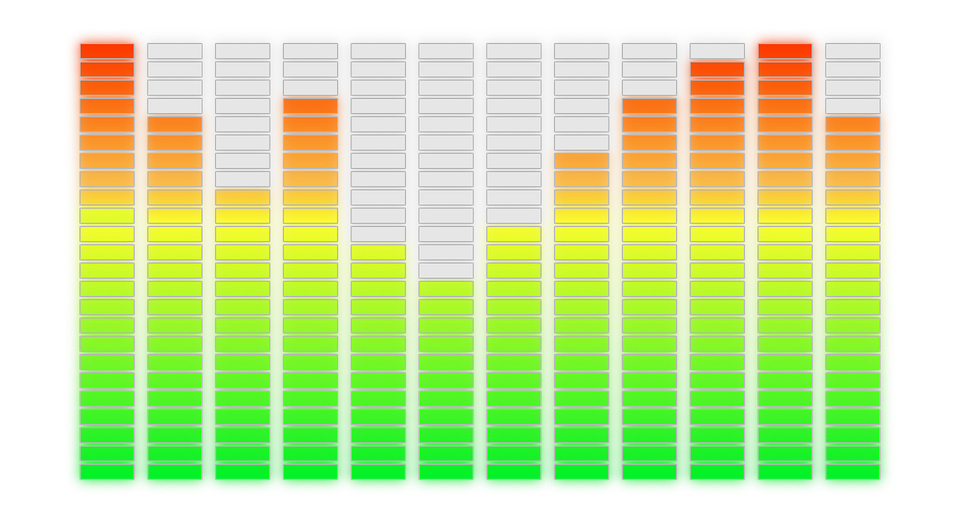Free Vector Graphic Audio Equalizer Graph Vu Meter