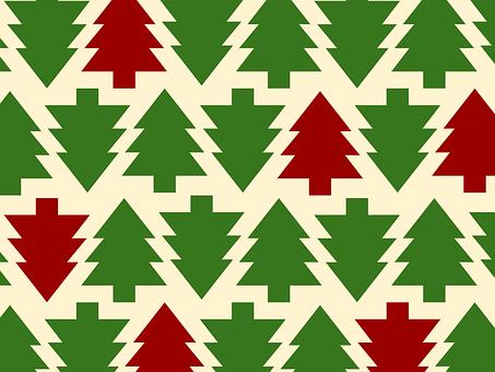 Background, Christmas, Christmas Trees