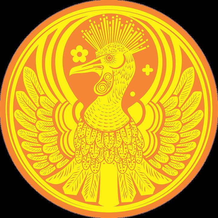 Феникс, Птица, Легенда, Монета, Пожар, Войдите