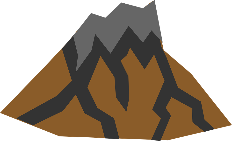 volcano mountain rocks free vector graphic on pixabay rh pixabay com free vector rocket free vector rockstar