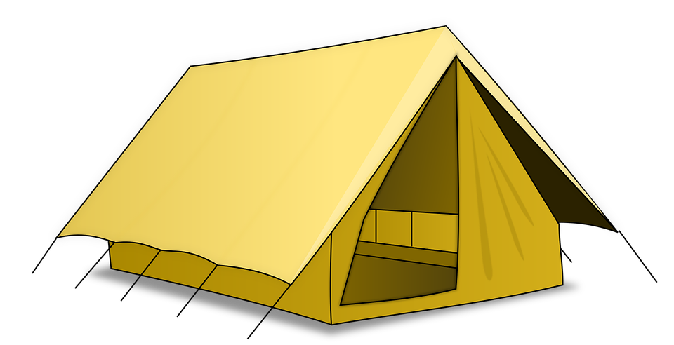 Camping Tent · Free vector graphic on Pixabay