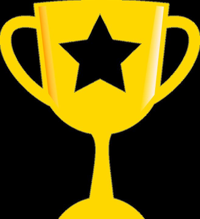 Achievement Golden Medal Trophy Icon