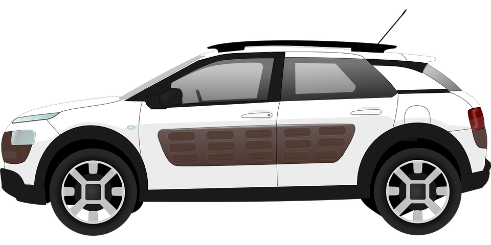 Cactus Car Citroen 183 Free Vector Graphic On Pixabay