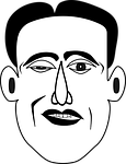 con artist, face, man