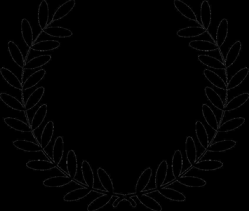 laurel leaf crown template - pixabay