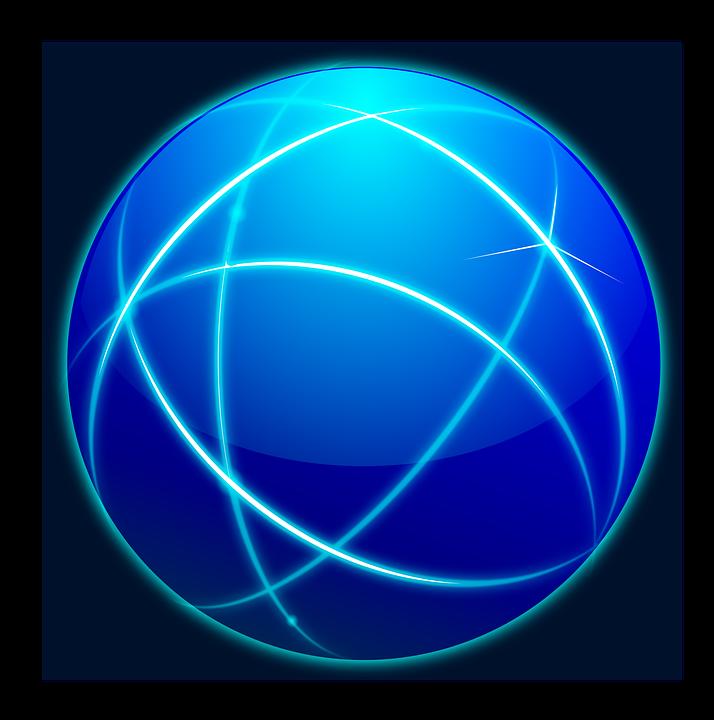 Verbindungen Internet Net World Kostenlose Vektorgrafik