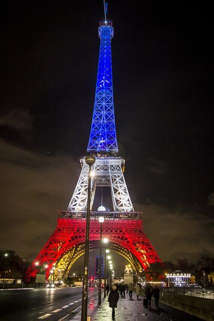 Photo gratuite paris france drapeau tour eiffel - Tour eiffel photos gratuites ...