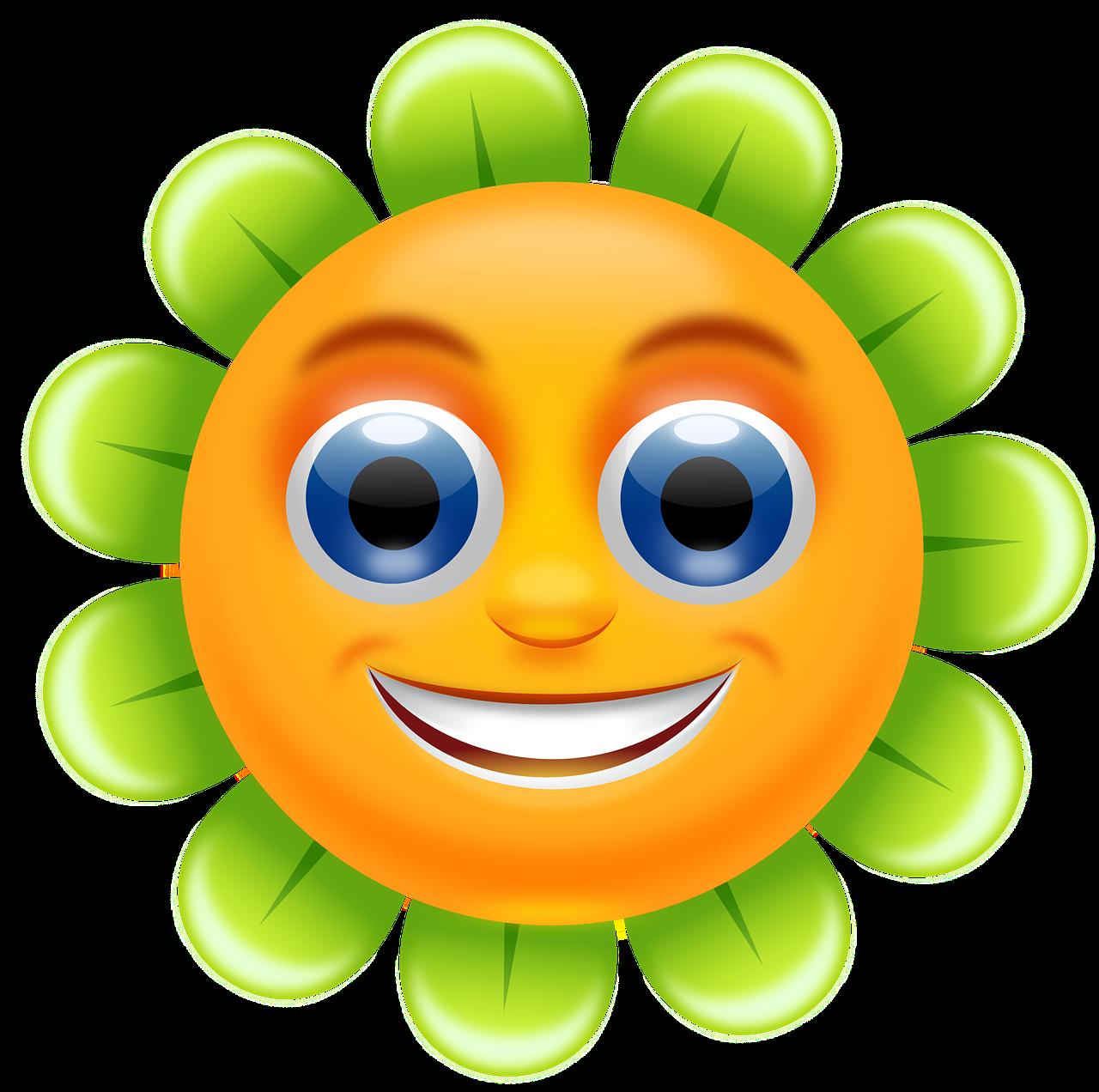 Мубарак картинки, веселый цветок картинка