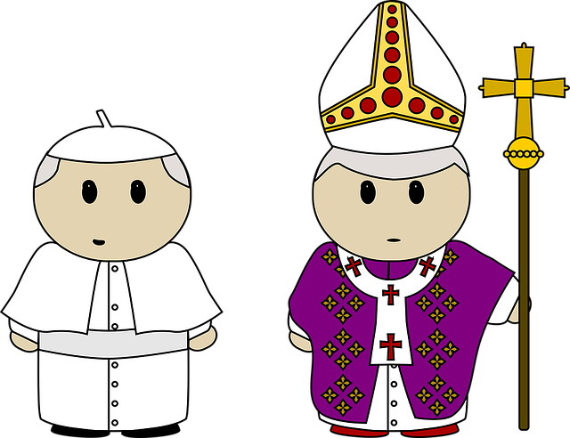 Benedict Cartoon Catholic · Free Vector Graphic On Pixabay