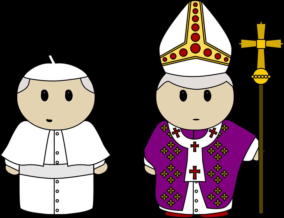 Matrimonio Catolico Dibujo : Vector gratis benedicto dibujos animados imagen