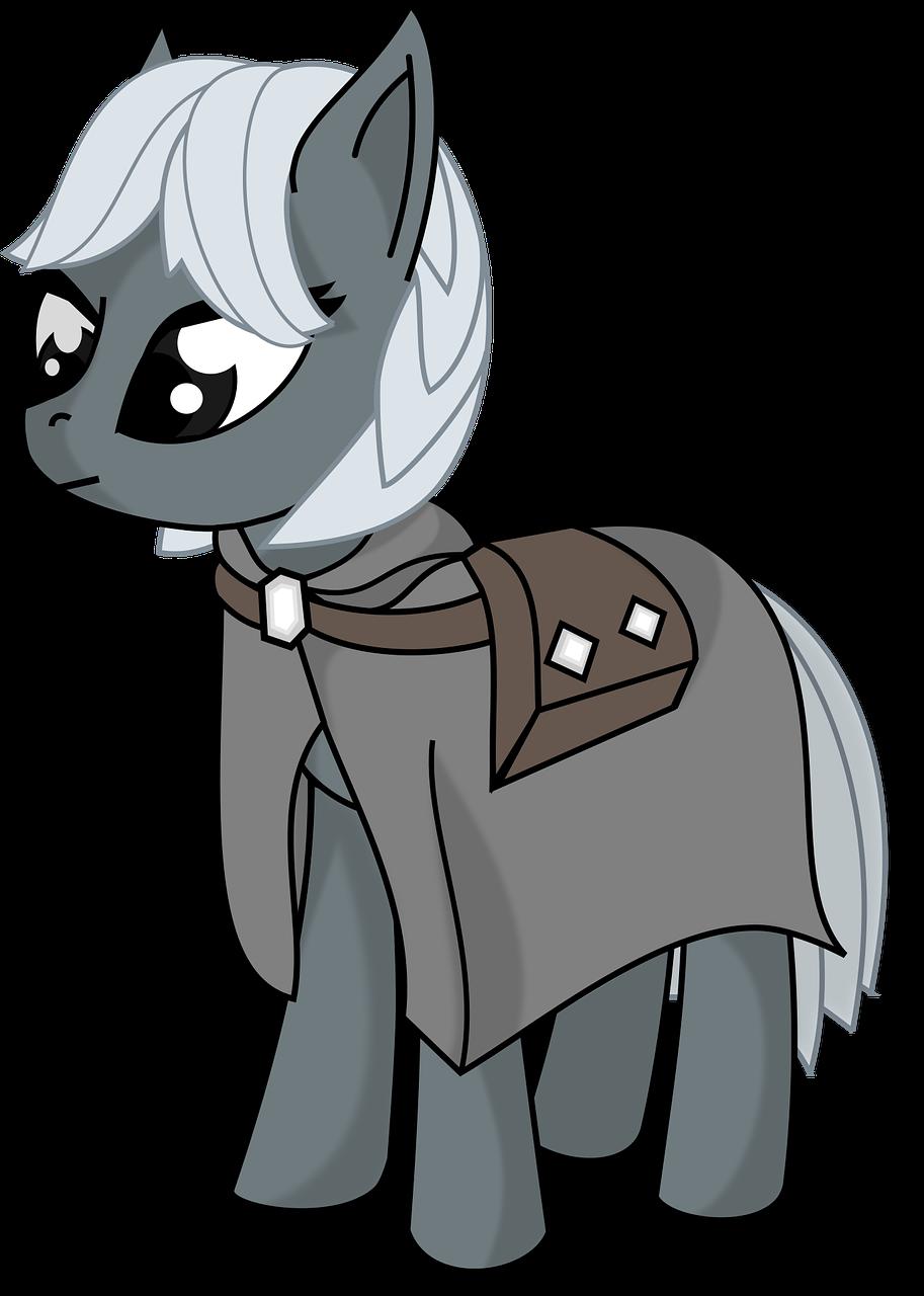 Pony Cartoon Cute Free Vector Graphic On Pixabay